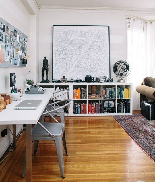study room low bookshelf ideas for your home