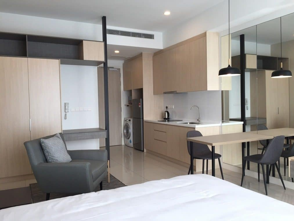 10 Small Apartment Interior Designs Below 800 Sq Ft, studio unit condominium in Nadi Bangsar