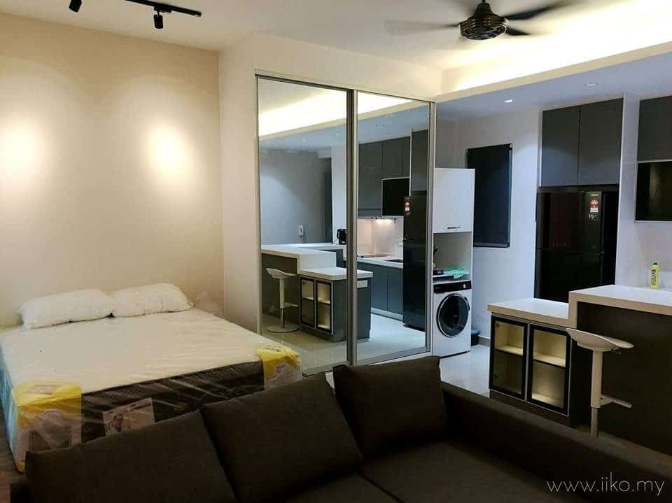 450 sq ft Studio renovation in CyberSquare, Cyberjaya