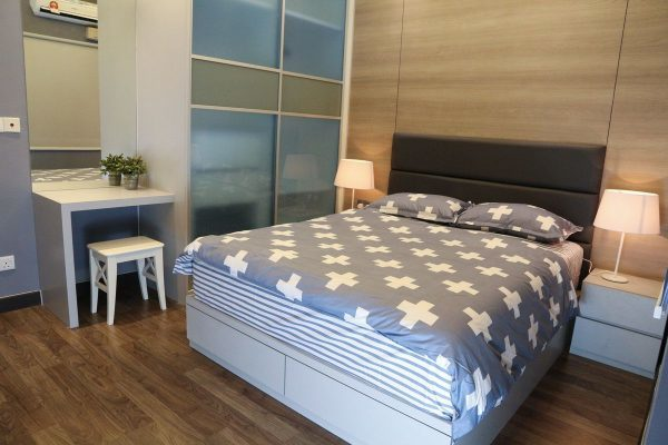 792 sq ft small condo renovation in The Wharf, Puchong