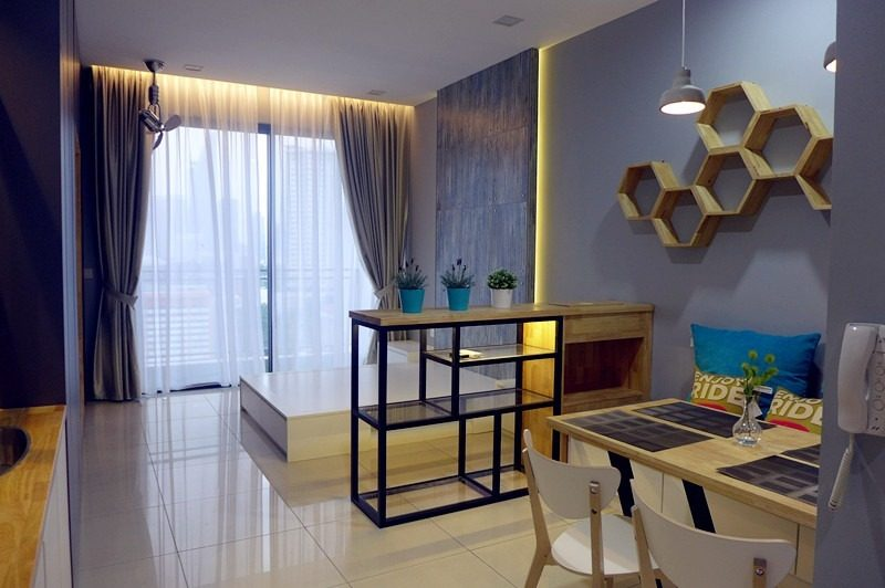 10 Small Apartment Interior Designs Below 800 Sq Ft, 441 sq ft Studio in Nadi Bangsar, Kuala Lumpur