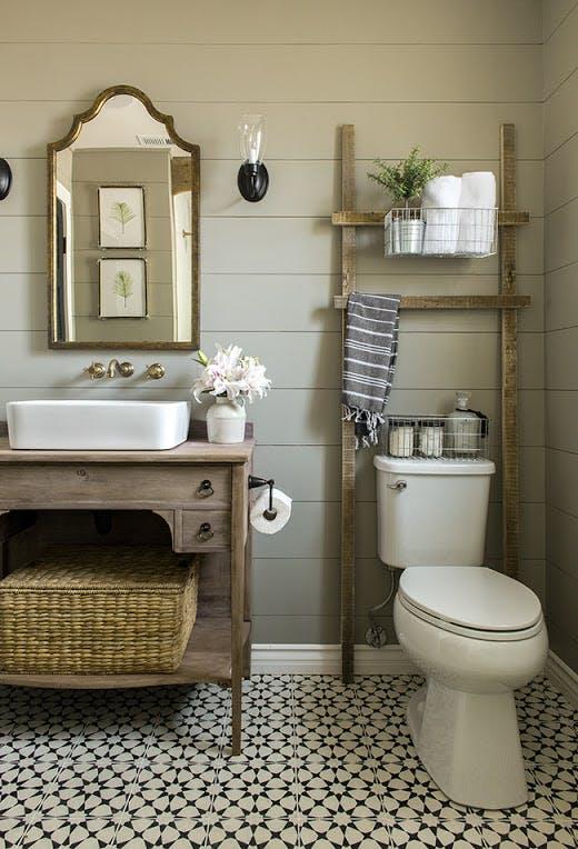 over-the-toilet storage