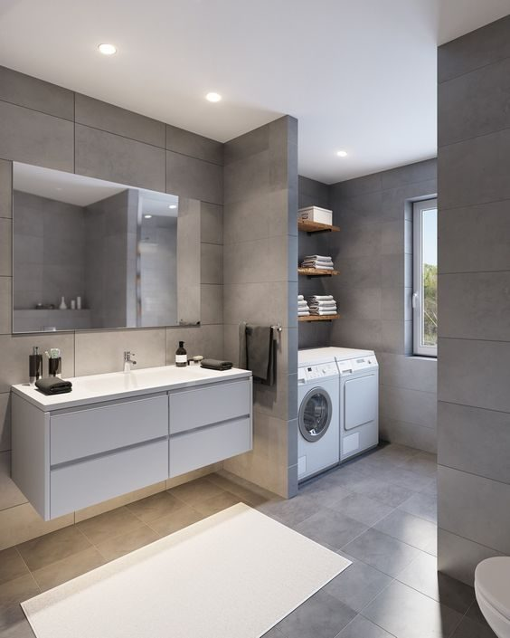 Small Bathroom-Laundry Ideas For Your Home | Recommend.my