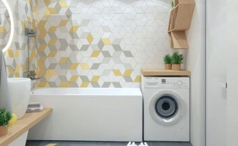 How to combine your bathroom and laundry space together