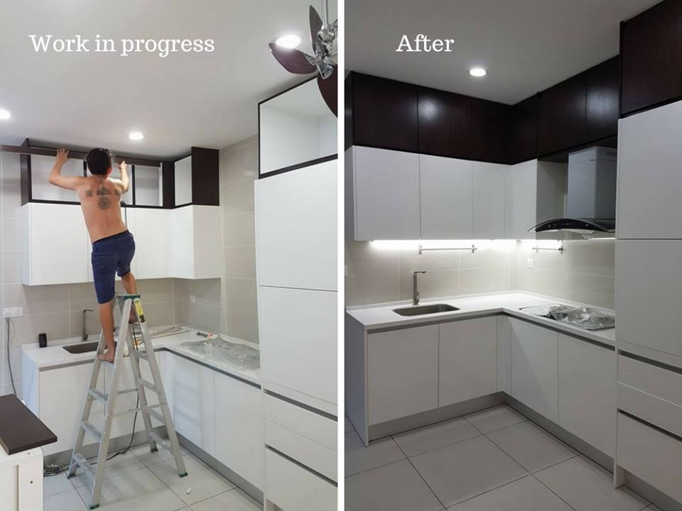 kitchen renovation puchong