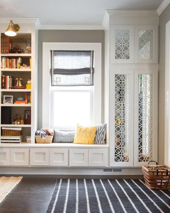 Storage Bench Under Bay Window: 16 Bay Window Ideas With Lots Of Storage