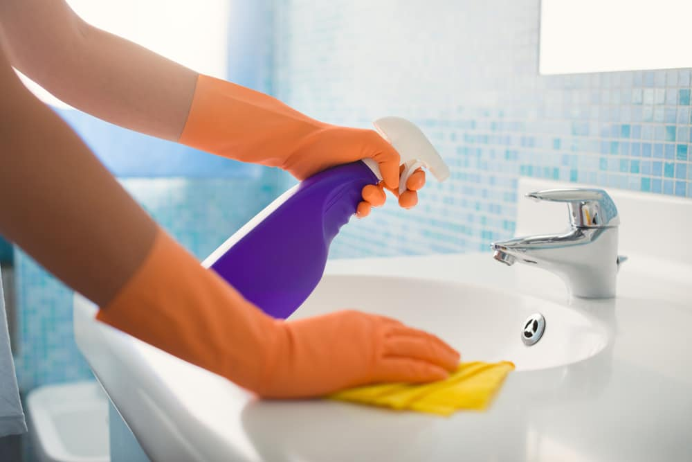 clean all surfaces to remove traces of hfmd