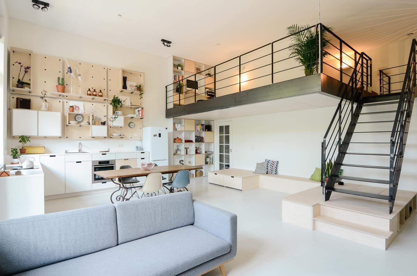 Studio interior design
