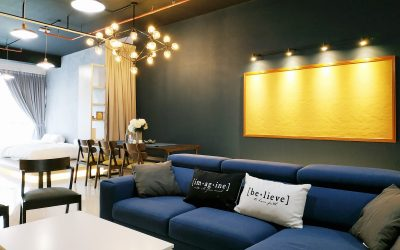 Airbnb interior design in 3Towers, Ampang