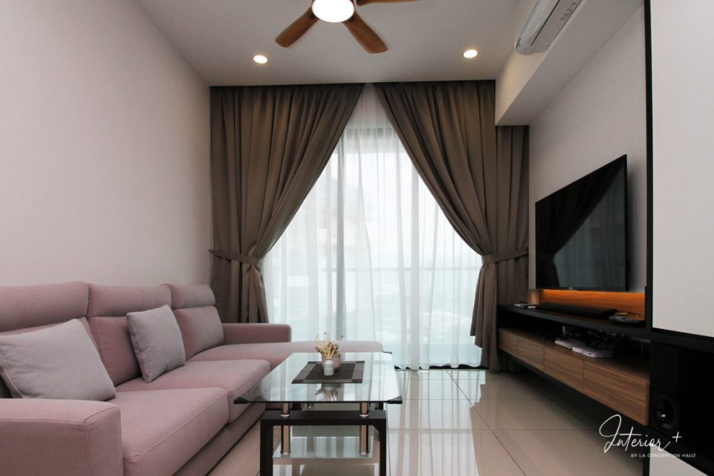 Small Living Room Design in Malaysia