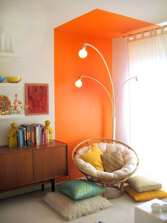 wall painting ideas for a cosy corner
