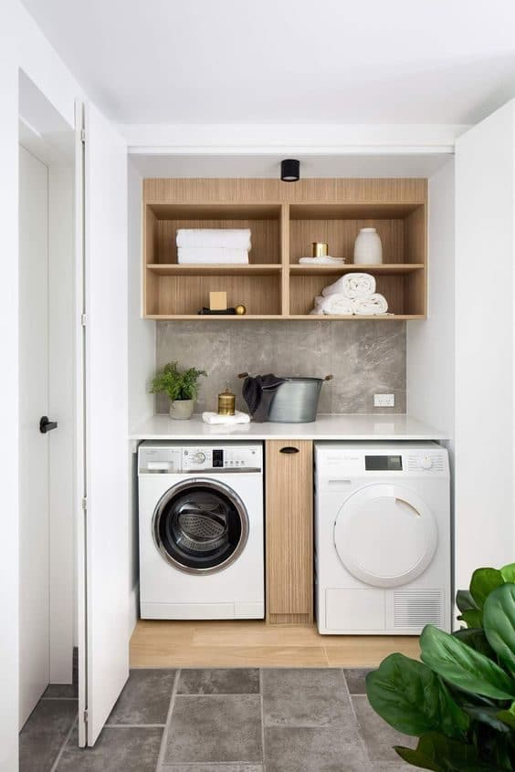 How To Organise a Small Washing Machine Yard Area