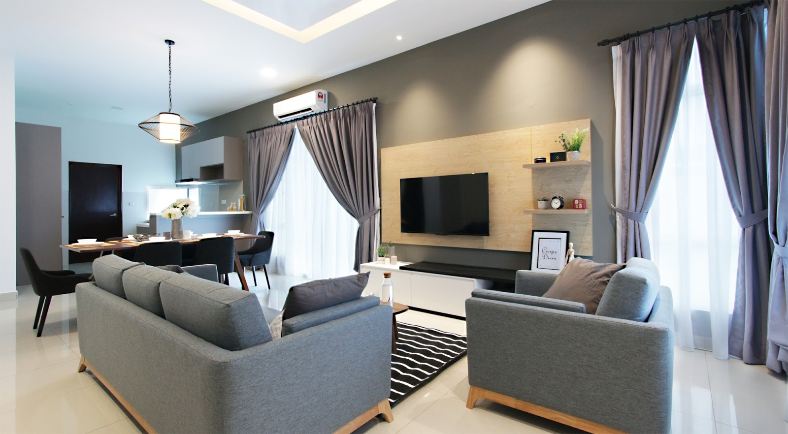 Take a Tour of This Fully-Furnished Semi-D House in M Residence 2