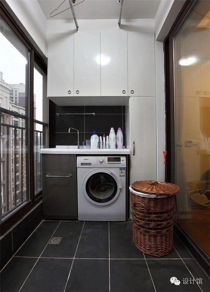 Small laundry yard