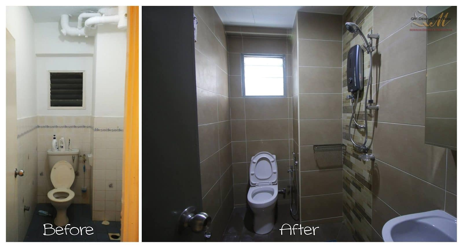 Bathroom refurbishing at Pandan Cheras