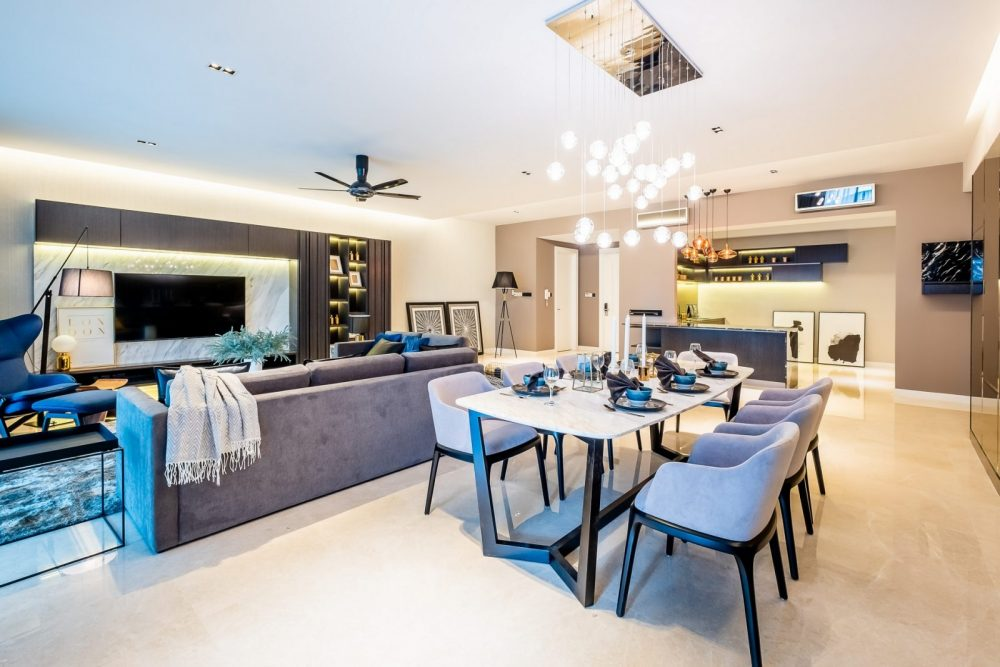 Stylish home in Seni Kiara by Mil Design