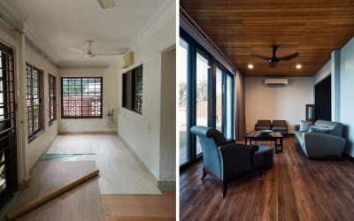 Makeover of bungalow in Damansara by Movent Design