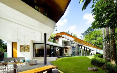 A passive cooling home in Singapore. Source: newatlas.com