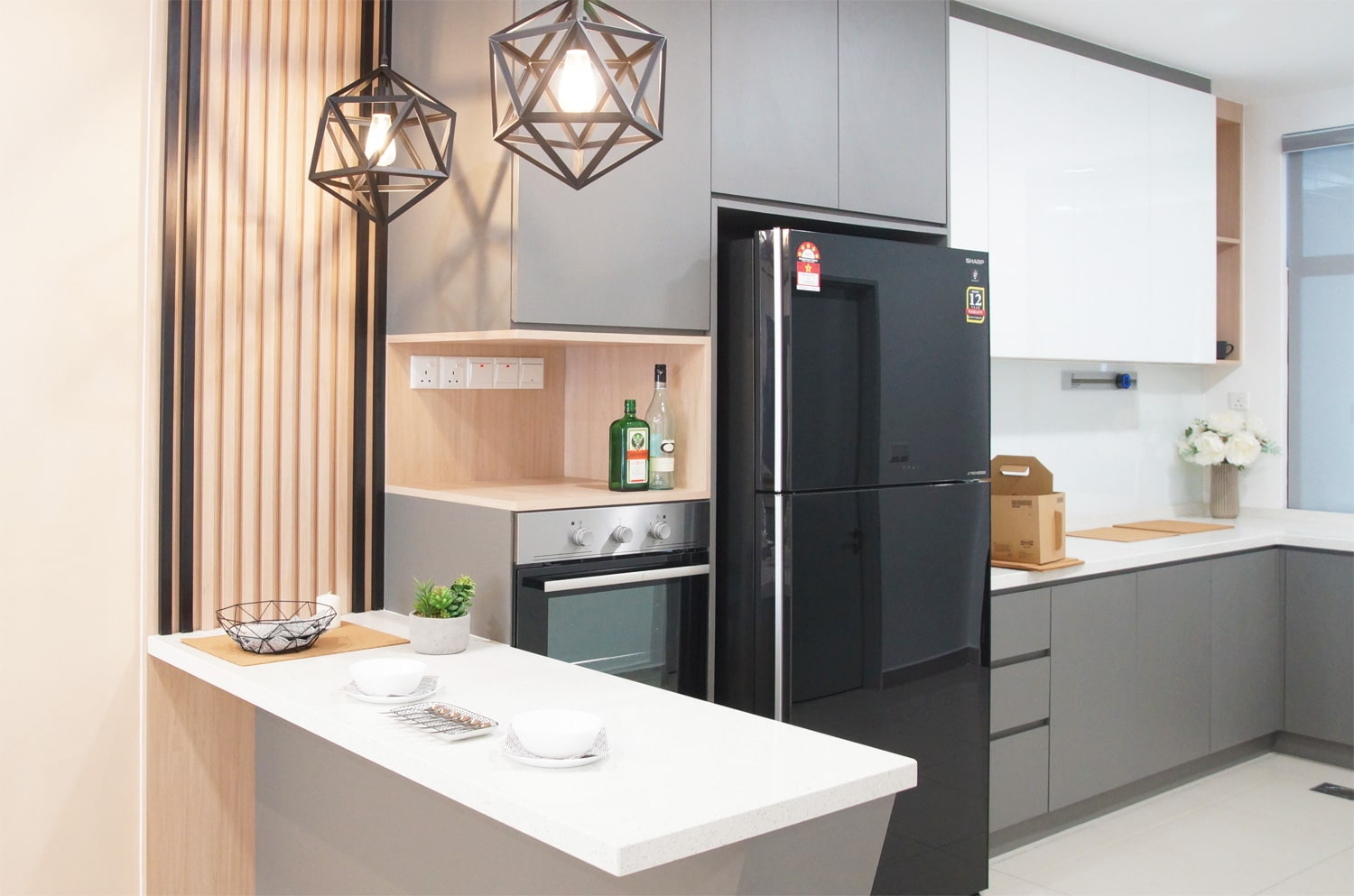 contemporary kitchen design in southville city