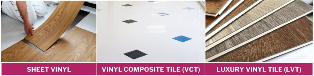Sheet vinyl vs vinyl tiles vs luxury vinyl