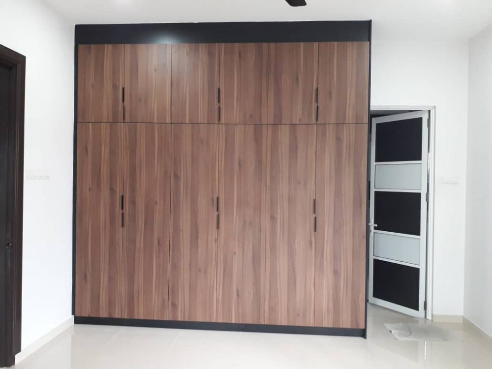 8ft built-in wardrobe design petaling jaya