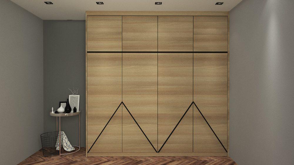 HAUS built-in wardrobe design