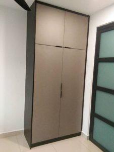 built-in wardrobe design ara damansara