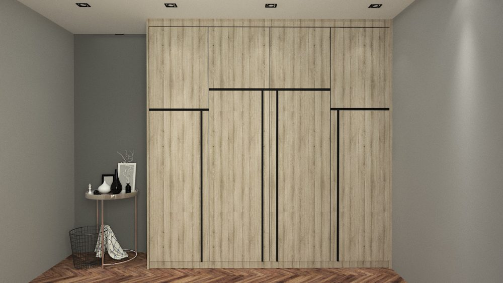 PARALLEL built-in wardrobe design malaysia