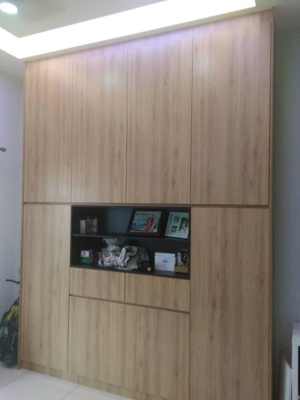 built-in wardrobe design gombak