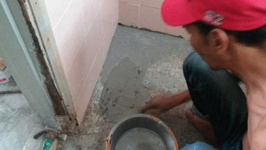toilet floor waterproofing