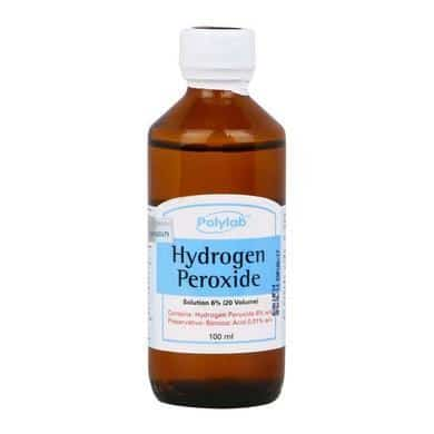Hydrogen peroxide disinfectant