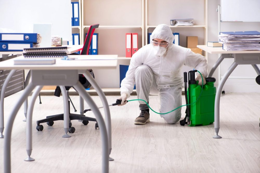 Office disinfecting services in Malaysia by Recommend.my
