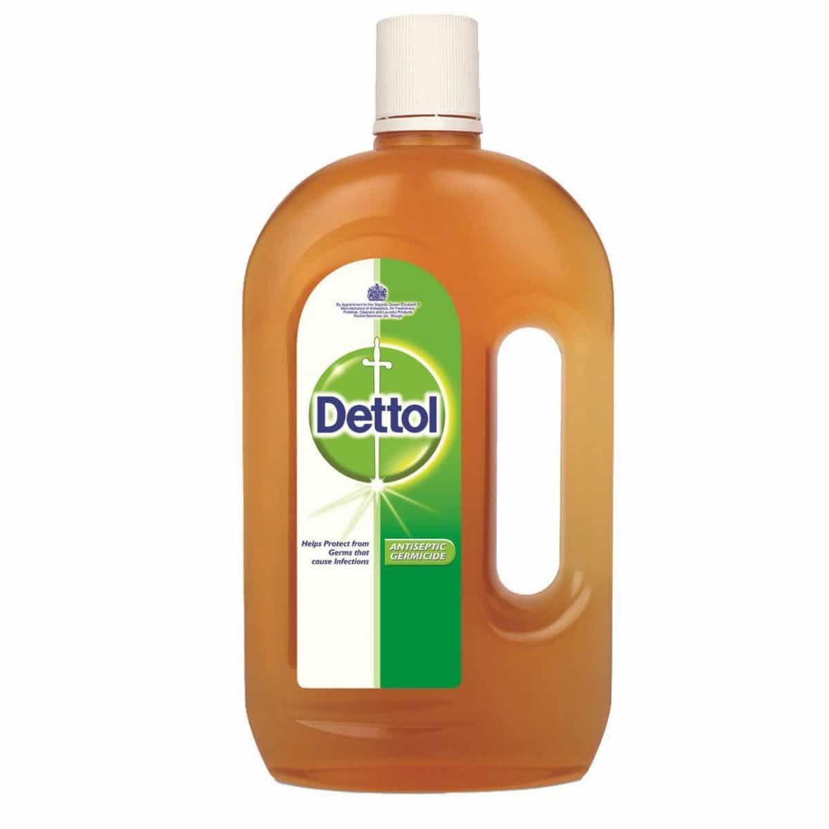 Dettol Antiseptic Disinfectant Liquid for COVID-19 disinfection containing chloroxylenol