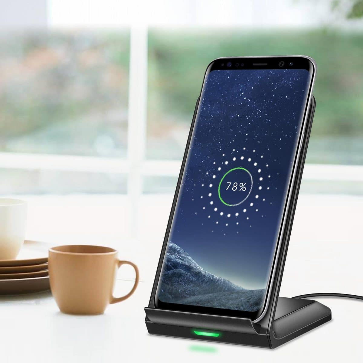 CHOETECH Wireless Fast Charging Smartphone Stand