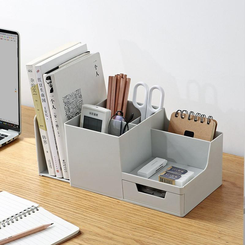Stylish desk stationery organizer