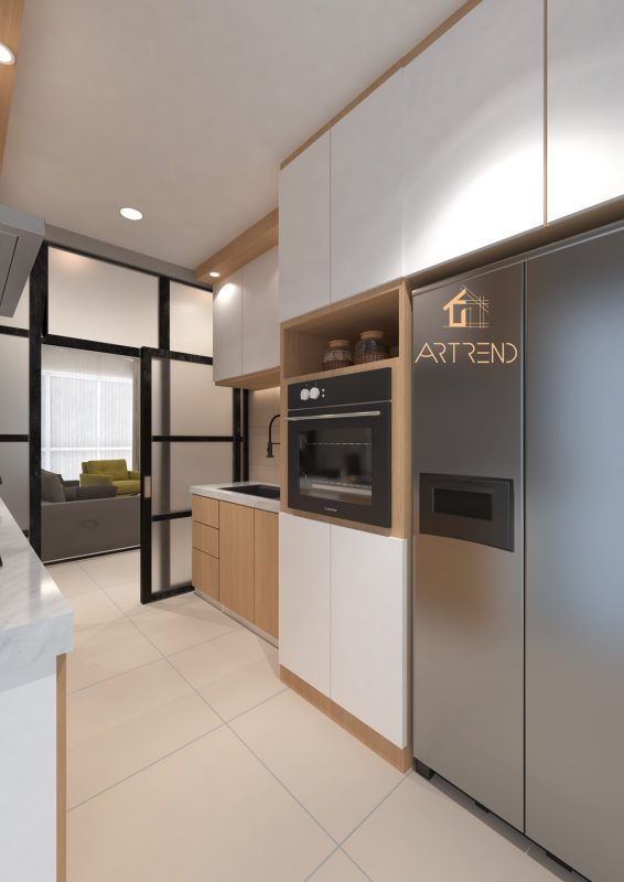 Summerskye Residences at Bayan Lepas by Artrend Interior Studio - kitchen