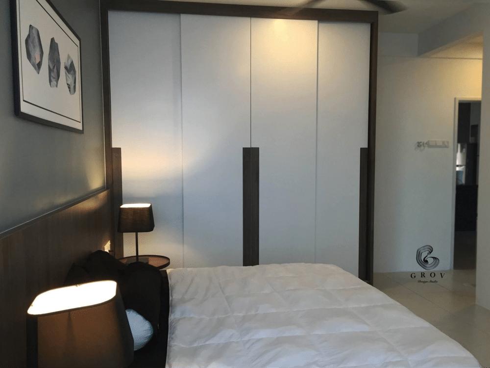 The Peak Residences interior design in Penang by Grov Design Studio - bedroom