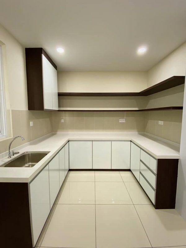 1100 sqft Camellia Park Condominium Design and Renovation by Code Interior Design - kitchen cabinet