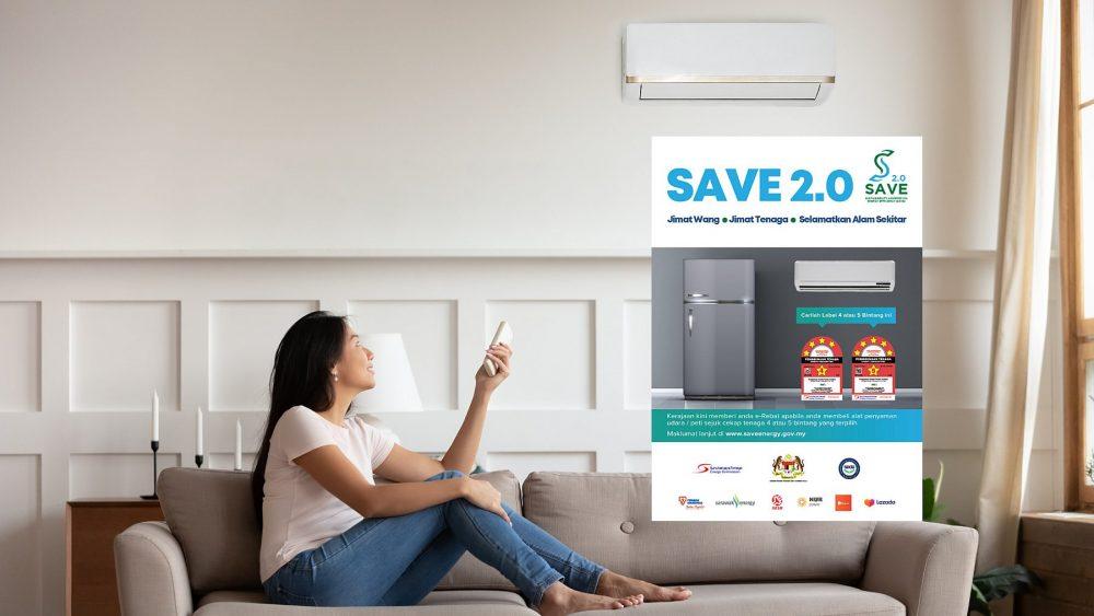 Get RM200 off these energy-saving aircons [SAVE 2.0 program]