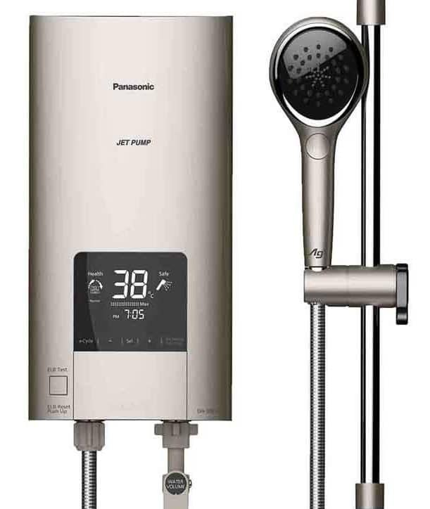 Panasonic DH-3NDP1 instant water heater with DC jet pump
