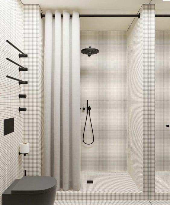 Copenhagen house bathroom by Emil Dervish