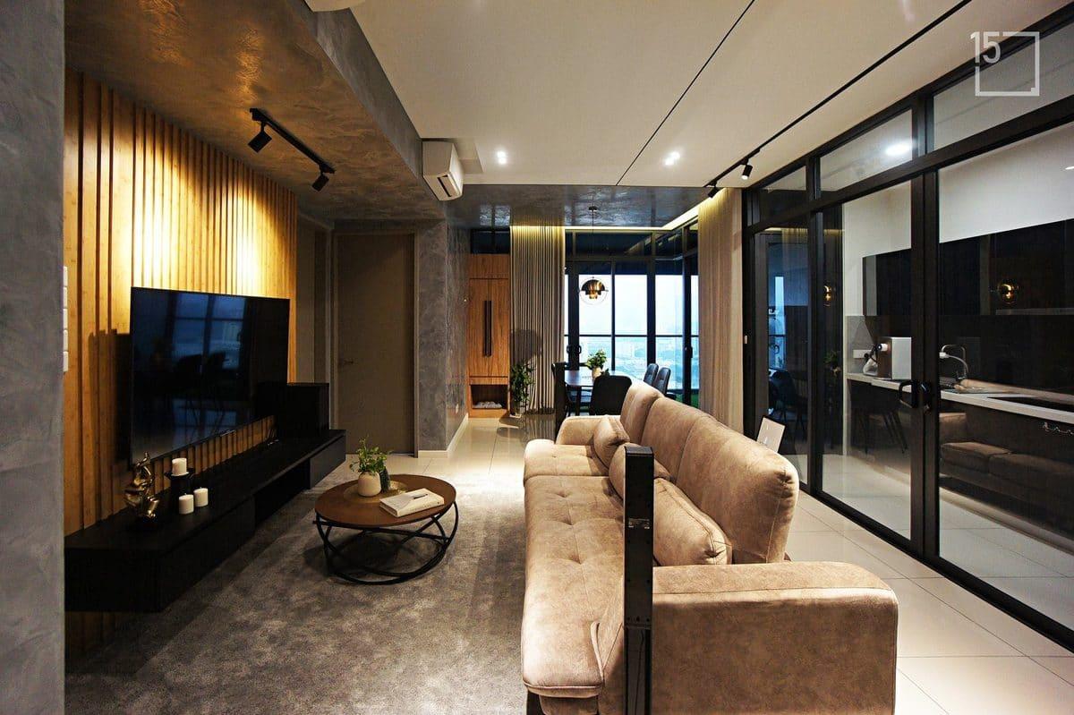 industrial interior design malaysia by fifteen interior design