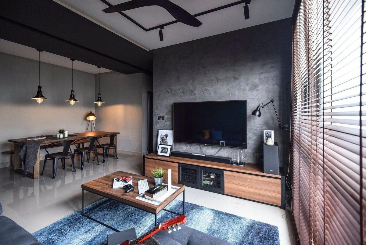 TV console design by cube asia design