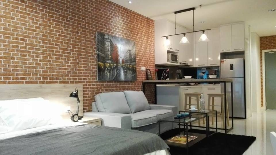 exposed brick wall industrial malaysia by amorphous design