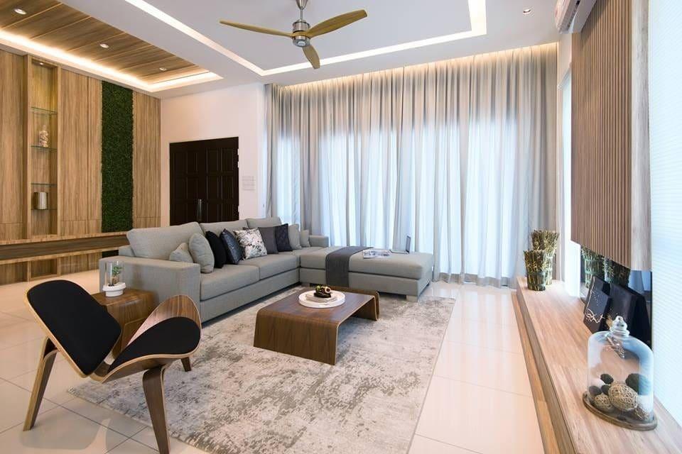 Scandinavian living room terrace home design