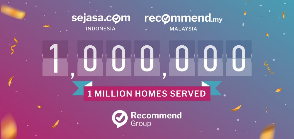 Recommend Group 1 million homes
