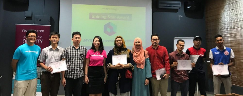 Working closely with local businesses and skilled service professionals who power our platform, Kuala Lumpur, Jul 2017