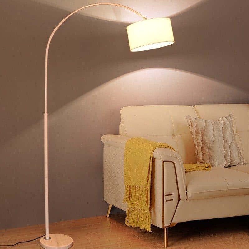 Floor standing fishing lamp (white) RM349