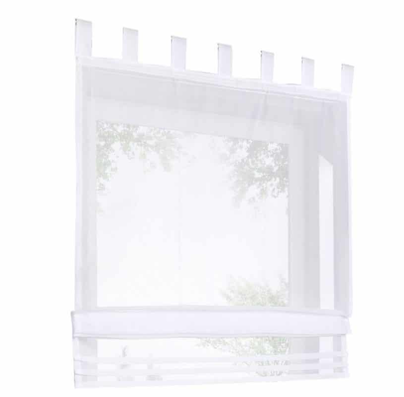 Sheer roman blinds RM34