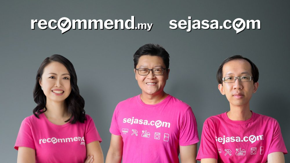Recommend.my sejasa.com co-founders series A